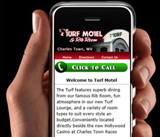 Turf Motel, Mobile Site